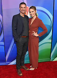 February 20, 2019 - Hollywood, California, U.S. - Warren Christie and Michaela McManus on the carpet at the NBCUniversal Mid Season Press Junket at Universal Studios. (Credit Image: © Lisa O'Connor/ZUMA Wire)
