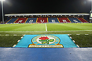 Empty stadium before the Sky Bet Championship match between Blackburn Rovers and Fulham at Ewood Park, Blackburn, England on 16 February 2016. Photo by Simon Brady.