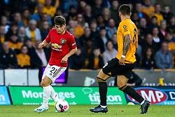 Daniel James of Manchester United - Mandatory by-line: Robbie Stephenson/JMP - 19/08/2019 - FOOTBALL - Molineux - Wolverhampton, England - Wolverhampton Wanderers v Manchester United - Premier League