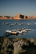 The Grand Canyon, Arizona.Wahweap Marina Lake Powell, Page, Arizona.