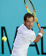 Richard Gasquet during the Madrid Open at Manzanares Park Tennis Centre, Madrid<br /> Picture by EXPA Pictures/Focus Images Ltd 07814482222<br /> 02/05/2016<br /> ***UK &amp; IRELAND ONLY***<br /> EXPA-ESP-160502-0097.jpg