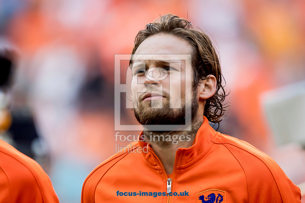 Daley Blind of Netherlands before the 2018 FIFA World Cup Qualifying match at Amsterdam Arena, Amsterdam<br /> Picture by Joep Joseph Leenen/Focus Images Ltd +316 5261929<br /> 03/09/2017<br /> ***NETHERLANDS OUT***