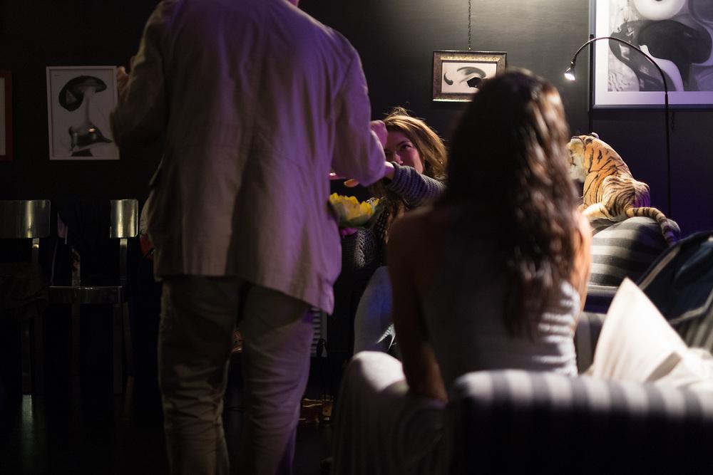 Terni 28/09/2017Spettacolo Varietà di varie Età di e con Paolo Liberati in occasione del termine della mostra Eros di Maggio al Mishima di Terni
