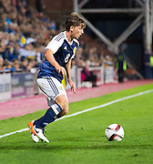 Scotland's Ryan Gauld during Scotland Under-21 v FYR Macedonia,  UEFA Under 21 championship qualifier  at Tynecastle, Edinburgh. Photo: David Young<br /> <br />  - &copy; David Young - www.davidyoungphoto.co.uk - email: davidyoungphoto@gmail.com