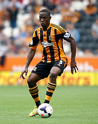 Hull City's Maynor Figueroa  - Photo mandatory by-line: Matt Bunn/JMP - Tel: Mobile: 07966 386802 24/08/2013 - SPORT - FOOTBALL - KC Stadium - Hull -  Hull City V Norwich City - Barclays Premier League