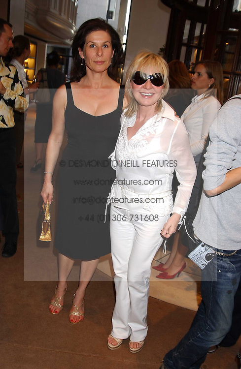 Left to right, GQ fashion editor JO LEVIN and singer LULU at a party to celebrate the publication of iPod, Therefore I am by Dylan Jones held at Asprey, 169 New Bond Street, London W1 on 14th July 2005.<br /><br />NON EXCLUSIVE - WORLD RIGHTS
