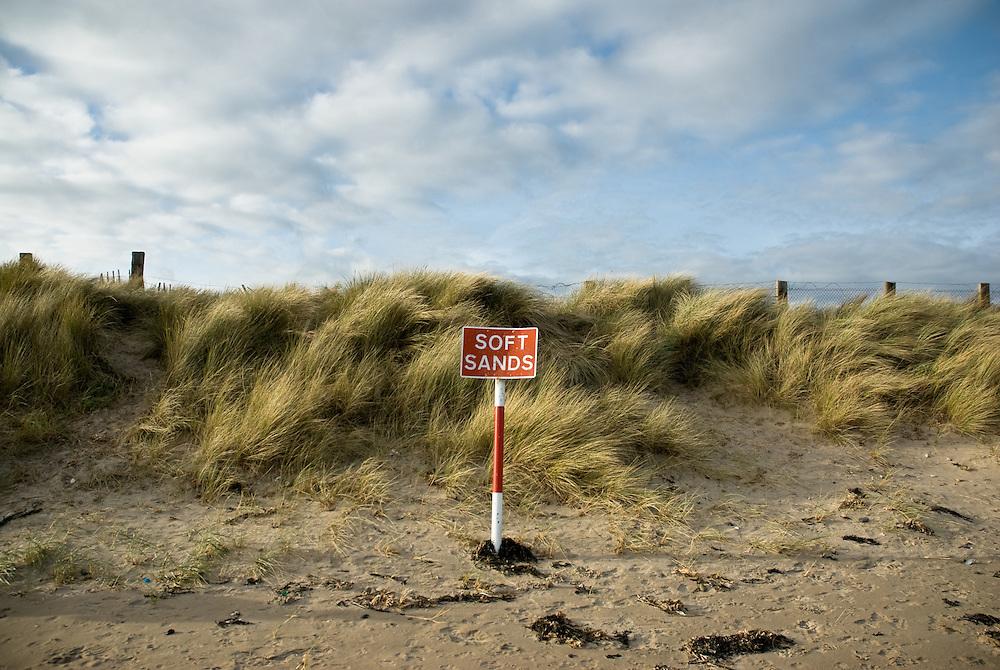 Soft Sands, Donabate, Co. Dublin, Ireland.