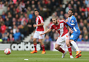 Adam Clayton and Jake Forster-Caskey during the Sky Bet Championship match between Middlesbrough and Brighton and Hove Albion at the Riverside Stadium, Middlesbrough, England on 2 May 2015.