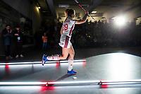 HAMBURG  (Ger) - Semi Final , match 15,  LHMC Laren v Der Club an der Alster (Ger) (5-3)  . Foto: Anne Schröder (Alster)   . Eurohockey Indoor  Club Cup 2019 Women . WORLDSPORTPICS COPYRIGHT  KOEN SUYK
