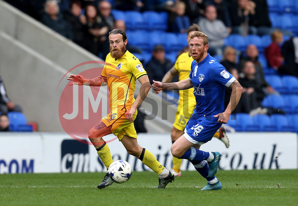 Stuart Sinclair of Bristol Rovers passes the ball - Mandatory by-line: Robbie Stephenson/JMP - 22/10/2016 - FOOTBALL - Sportsdirect.com Park - Oldham, England - Oldham Athletic v Bristol Rovers - Sky Bet League One