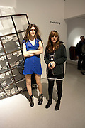 ZOE COLCHESTER; DARCEY O'MARA, Ron Arad; Restless. Cocktail reception hosted by Kate Bush of the Barbican and Tony Chambers of Wallpaper magazine. Barbican art Gallery. London. 17 September 2010