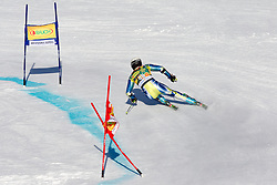 Janez Jazbec of Slovenia competes during 1st Run of Men's Giant Slalom of FIS Ski World Cup Alpine Kranjska Gora, on March 5, 2011 in Vitranc/Podkoren, Kranjska Gora, Slovenia.  (Photo By Vid Ponikvar / Sportida.com)