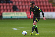 Forest Green Rovers Gavin Gunning(16) during the EFL Sky Bet League 2 match between Crewe Alexandra and Forest Green Rovers at Alexandra Stadium, Crewe, England on 27 April 2019.