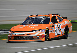 April 27, 2018 - Talladega, AL, U.S. - TALLADEGA, AL - APRIL 27:  David Starr, Means Motorsports, Chevrolet Camaro Whataburger during practice for the NASCAR Xfinity Series Sparks 300 race on April 27, 2018, at the Talladega Superspeedway in Talladega, AL.  (Photo by David John Griffin/Icon Sportswire) (Credit Image: © David J. Griffin/Icon SMI via ZUMA Press)