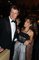 ZAC and SHEHERAZADE GOLDSMITH at the British Red Cross London Ball held at The Room by The River, 99 Upper Ground, London SE1 on 16th November 2006.<br />