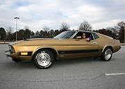 My favorite model in my favorite Muscle Car, a 1973 Mach 1 Ford Mustang.