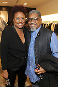 New York, NY-December 3: (L-R ) Author/Designer Harriette Cole and Photographer Marc Baptiste and George Chinsee attend Harriette Cole's 20th Anniversary Business Celebration held at Lafayette 148 Headquarters on December 3, 2015 in New York City.  (Photo by Terrence Jennings/terrencejennings.com)