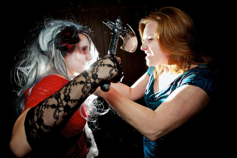 Portrait session from Goldie Dingman's zombie party held Sept. 24, 2011 in Rathdrum, Idaho.