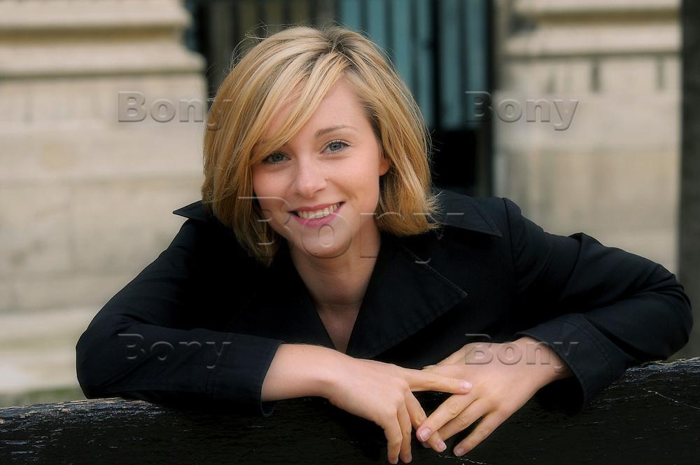 Delphine DEPARDIEU, french actress. Paris.