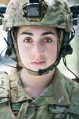 Nicole Army Portrait