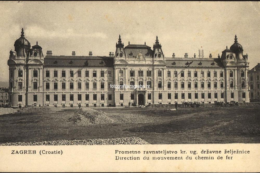 Zagreb (Croatie) : Prometno upraviteljstvo kr. ug. državne željeznice = Direction du mouvement du chemin de fer. <br /> <br /> ImpresumTrieste : S. M. D., Modiano Trieste, [1908].<br /> Materijalni opis1 razglednica : tisak ; 8,9 x 13,8 cm.<br /> NakladnikS. D. Modiano Trieste<br /> Mjesto izdavanjaTrst<br /> Vrstavizualna građa • razglednice<br /> ZbirkaZbirka razglednica • Grafička zbirka NSK<br /> Formatimage/jpeg<br /> PredmetZagreb –– Ulica Antuna Mihanovića<br /> SignaturaRZG-MIH-21<br /> NapomenaRazglednica je putovala 1908. godine. • U donjem lijevom rubu poleđine razglednice otisnuta je abrevijacija S. M. D., Modiano Trieste (S. D. Modiano Trieste).<br /> PravaJavno dobro<br /> Identifikatori000955203<br /> NBN.HRNBN: urn:nbn:hr:238:624920 <br /> <br /> Izvor: Digitalne zbirke Nacionalne i sveučilišne knjižnice u Zagrebu