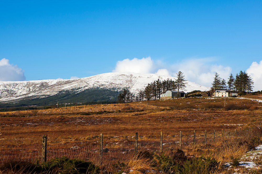 The view from the N56 road from Killybegs to Ardara in Donegal, Ireland