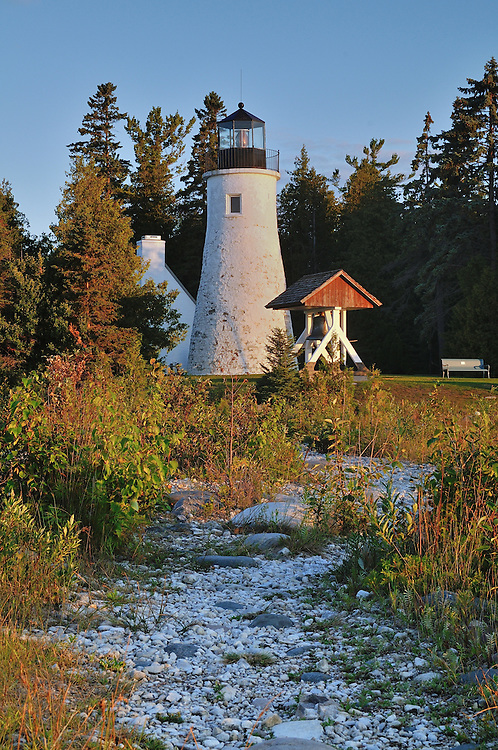 Old Presque Isle Lighthouse,<br /> Northeast Lower Michigan
