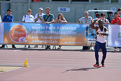 06/08/2017; Lucumi Villegas, Luis Fernando, T38, COL at 2017 World Para Athletics Junior Championships, Nottwil, Switzerland