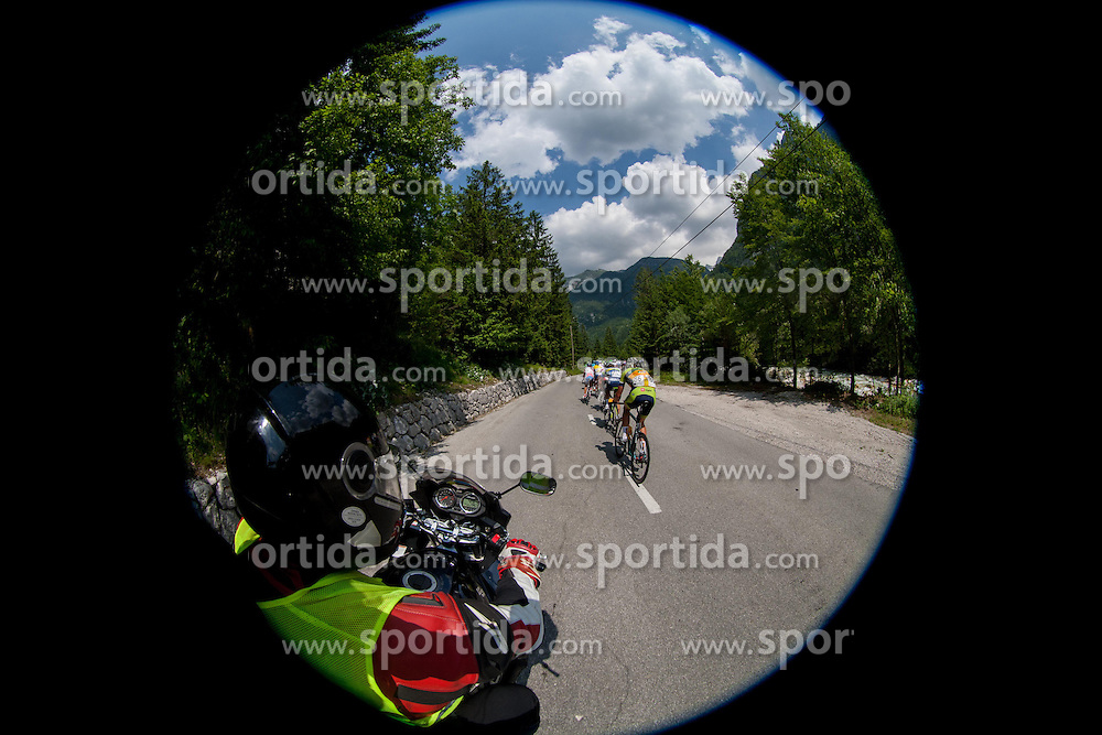 Riders during Stage 3 from Skofja Loka to Vrsic (170 km) of cycling race 20th Tour de Slovenie 2013,  on June 15, 2013 in Slovenia. (Photo By Vid Ponikvar / Sportida)