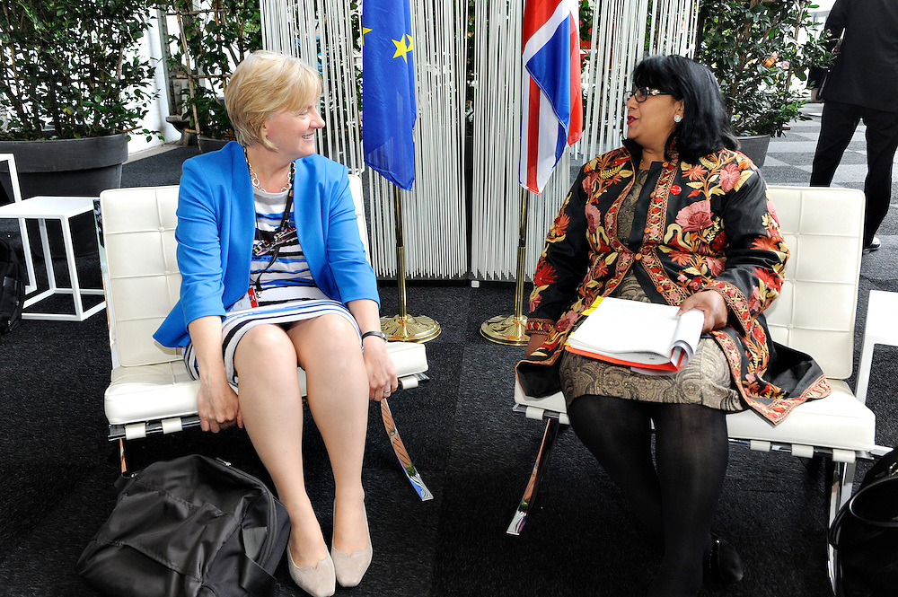 20150603- Brussels - Belgium - 03 June2015 - European Development Days - EDD  - Baroness Verma UK and Linda McAvan EP  © EU/UE