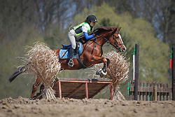 Cools Evelien (BEL) - Joly's Dusty<br /> Nationale Pony eventing Affligem 2013<br /> © Dirk Caremans