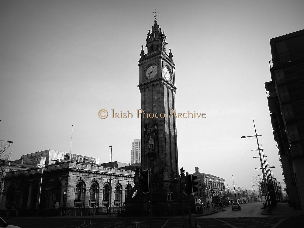Albert Memorial Clock, Queenís Square, Belfast City ñ 1869