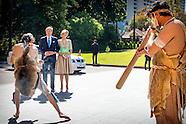 STAATSBEZOEK AUSTRALIE DAG 1 WILLEM ALEXANDER EN MAXIMA