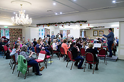 Lincolnshire Music Service photographed at the Petwood Hotel, Woodhall Spa, Lincolnshire.<br /> <br /> Picture: Chris Vaughan Photography<br /> Date: January 3, 2018