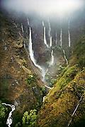 Waterfalls in Kipahulu, Maui. USA.