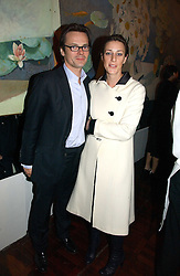 LUKE & ALICE IRWIN at a party to celebrate the publication of 'The year of Eating Dangerously' by Tom Parker Bowles held at Kensington Place, 201 Kensington Church Street, London on 12th october 2006.<br />