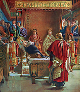 The Alhambra Decree (also known as the Edict of Expulsion) was an edict issued on 31 March 1492 by the joint Catholic Monarchs of Spain (Isabella I of Castile and Ferdinand II of Aragon) ordering the expulsion of Jews from the Kingdom of Spain and its territories and possessions by 31 July of that year