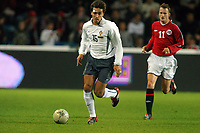 Fotball, 10. september 2003, Norge-Portulgal, (Norway -  Portugal), <br /> Beto, Portugal