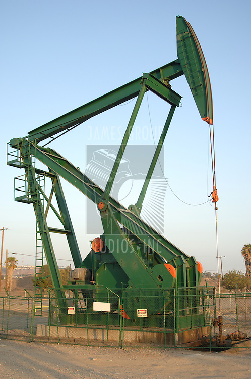 A new oil pump rig shot in daylight
