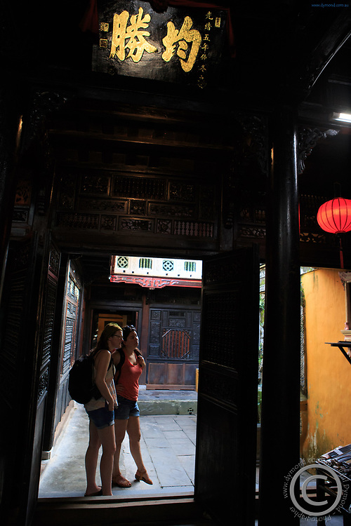 The old town of Hoi An, Vietnam has many historic homes such as Quan Thang House which are able to be explored