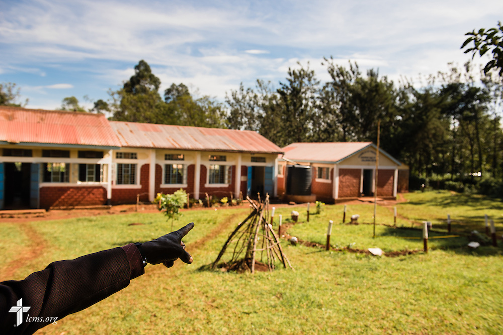 Exterior photograph of the Othoro ELCK (Evangelical Lutheran Church in Kenya) Project 24 boarding facility on Sunday, Oct. 18, 2015, in Kisumu, Kenya. LCMS Communications/Erik M. Lunsford
