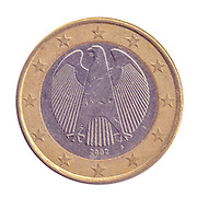 Gold and silver One Euro coin (Germany)