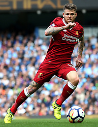 Alberto Moreno of Liverpool - Mandatory by-line: Matt McNulty/JMP - 09/09/2017 - FOOTBALL - Etihad Stadium - Manchester, England - Manchester City v Liverpool - Premier League