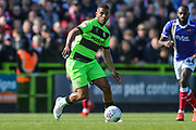 Forest Green Rovers Reuben Reid(26) during the EFL Sky Bet League 2 match between Forest Green Rovers and Exeter City at the New Lawn, Forest Green, United Kingdom on 4 May 2019.