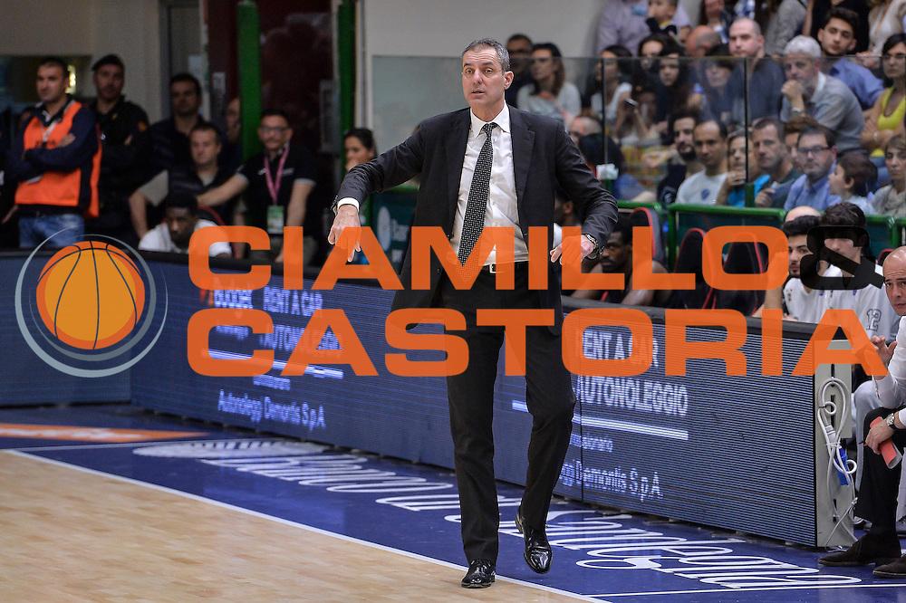 DESCRIZIONE : Beko Legabasket Serie A 2015- 2016 Dinamo Banco di Sardegna Sassari - Pasta Reggia Juve Caserta<br /> GIOCATORE : Sandro Dell'Agnello<br /> CATEGORIA : Allenatore Coach<br /> SQUADRA : Pasta Reggia Juve Caserta<br /> EVENTO : Beko Legabasket Serie A 2015-2016<br /> GARA : Dinamo Banco di Sardegna Sassari - Pasta Reggia Juve Caserta<br /> DATA : 03/04/2016<br /> SPORT : Pallacanestro <br /> AUTORE : Agenzia Ciamillo-Castoria/L.Canu