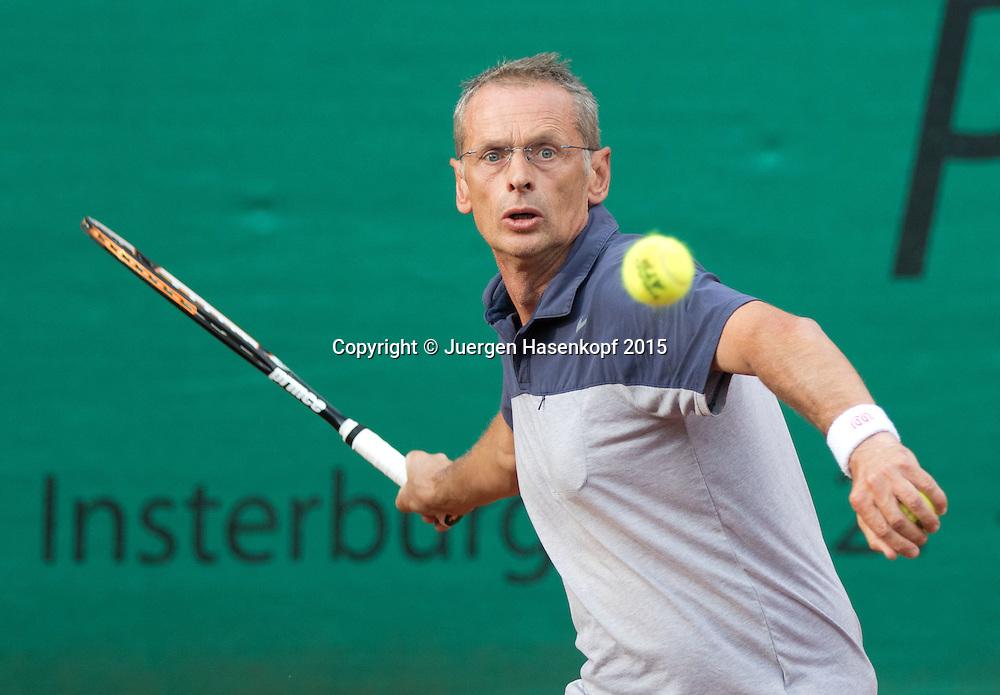 Munich Senior Open 2015 MS45, Singles ,Peter Simkovic,<br /> <br /> Tennis - Munich Senior Open - ITF Senioren Turnier -  Tennis Kooperation Muenchen-Johanniskirchen - Muenchen - Bayern - Germany  - 30 July 2015. <br /> &copy; Juergen Hasenkopf