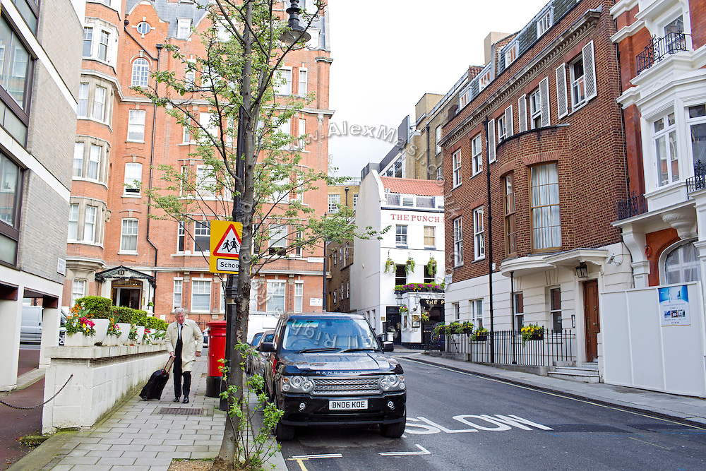 A man is walking opposite  8 Chesterfield Hill, (Mercantile Group HQ) in central London, United Kingdom.<br /> <br /> CREDIT: Alex Masi for The Wall Street Journal<br /> CHESTERTON<br /> <br /> The name of London real-estate agency Chesterton Humberts exudes English affluence. But in early 2011, as Libya was engulfed in revolution, a substantial stake in the firm was quietly acquired by the wealthy family of a longtime lieutenant to Moammar Gadhafi, according to a person with direct knowledge of the investment.