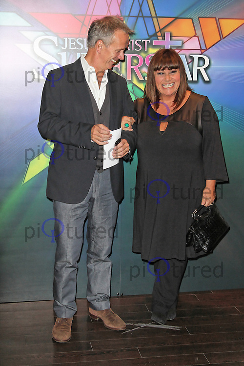 LONDON - SEPTEMBER 21: Dawn French attended the Launch Night of 'Jesus Christ Superstar' at the O2 Arena, Greenwich, London, UK. September 21, 2012. (Photo by Richard Goldschmidt)