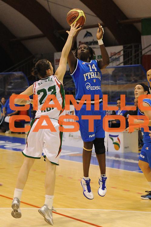 DESCRIZIONE : Pomezia Raduno Collegiale Nazionale Italiana Femminile Italia Bulgaria<br /> GIOCATORE : abiola wabara<br /> CATEGORIA : tiro<br /> SQUADRA : Nazionale Italia Donne <br /> EVENTO : Raduno Collegiale Nazionale Italiana Femminile <br /> GARA : Italia Bulgaria<br /> DATA : 25/05/2012 <br /> SPORT : Pallacanestro <br /> AUTORE : Agenzia Ciamillo-Castoria/GiulioCiamillo<br /> Galleria : Fip Nazionali 2012<br /> Fotonotizia : Pomezia Raduno Collegiale Nazionale Italiana Femminile Italia Bulgaria<br /> Predefinita :