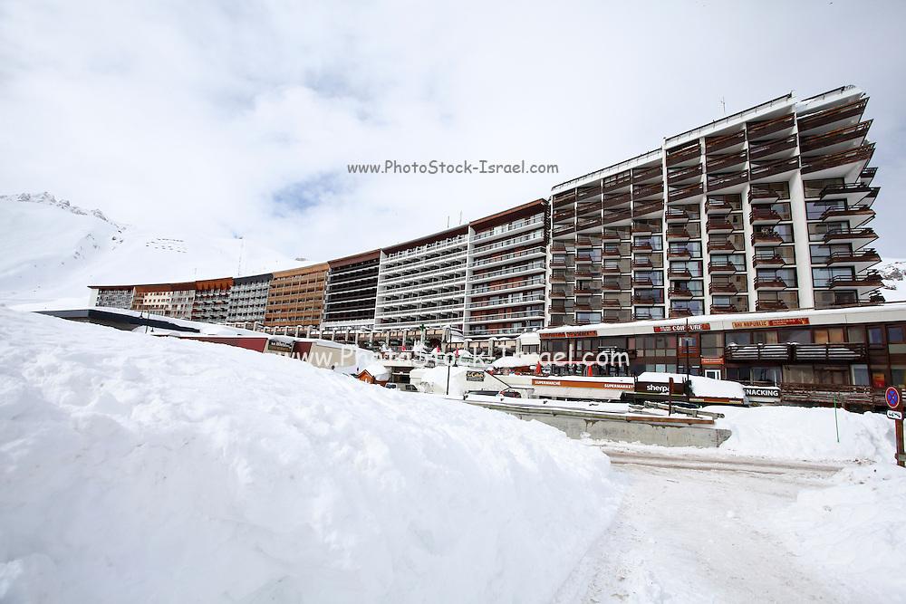 Tignes, France, Ski resort